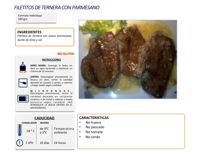 filete ternera parmesano